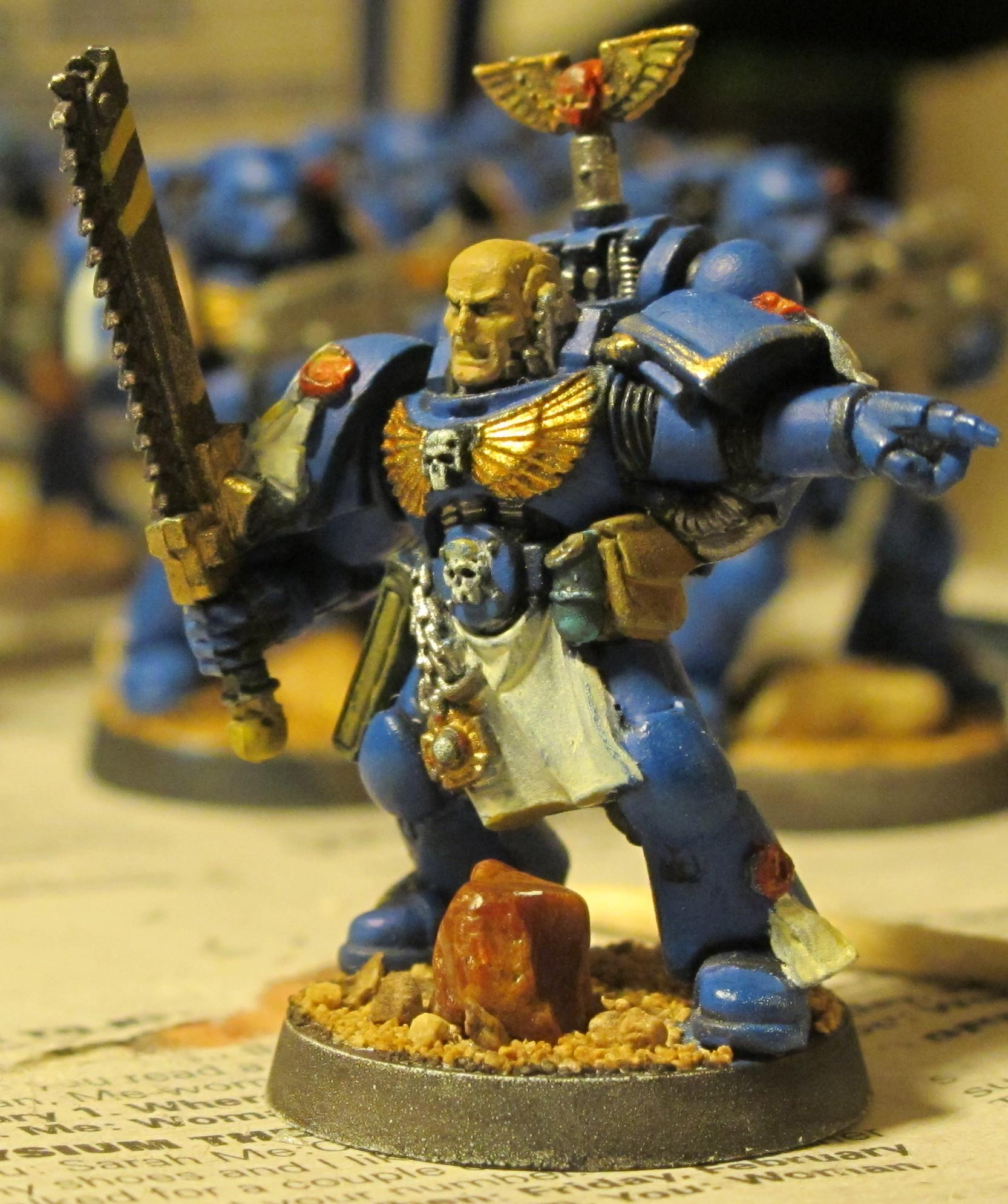 Chainsword, Sergeant, Space Marines