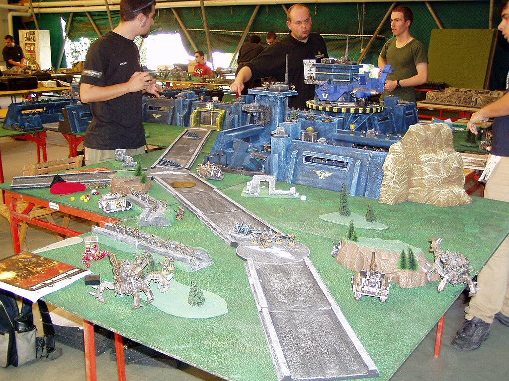 Apocalypse, Chaos, Game Table, Space Marines, Ultramarines, Warhammer 40,000