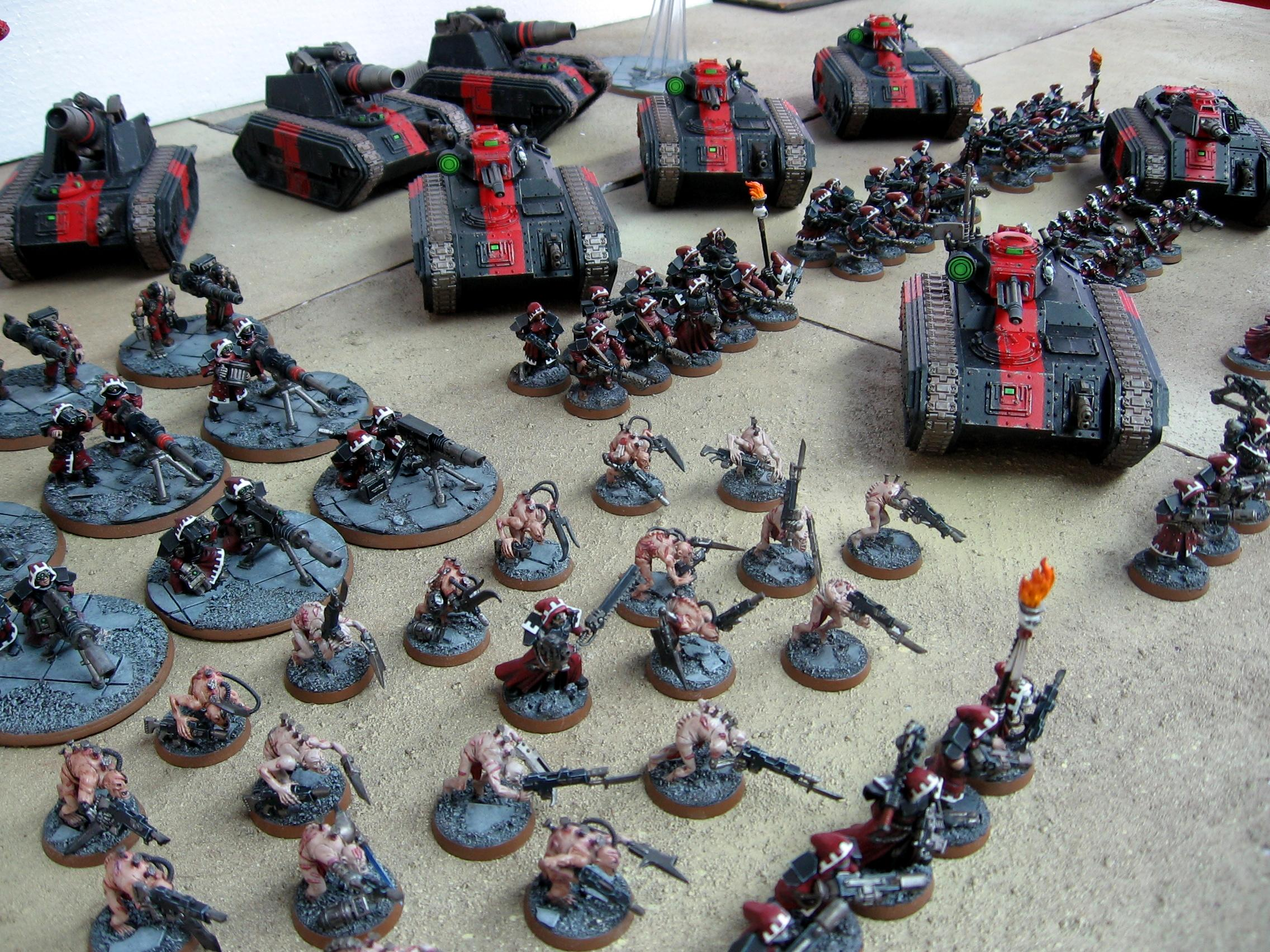 Adeptus Mechanicus, Army, Chimera, Conversion, Ghoul, Guard, Imperial, Imperial Guard, Mechanicus, Tank, Warhammer 40,000