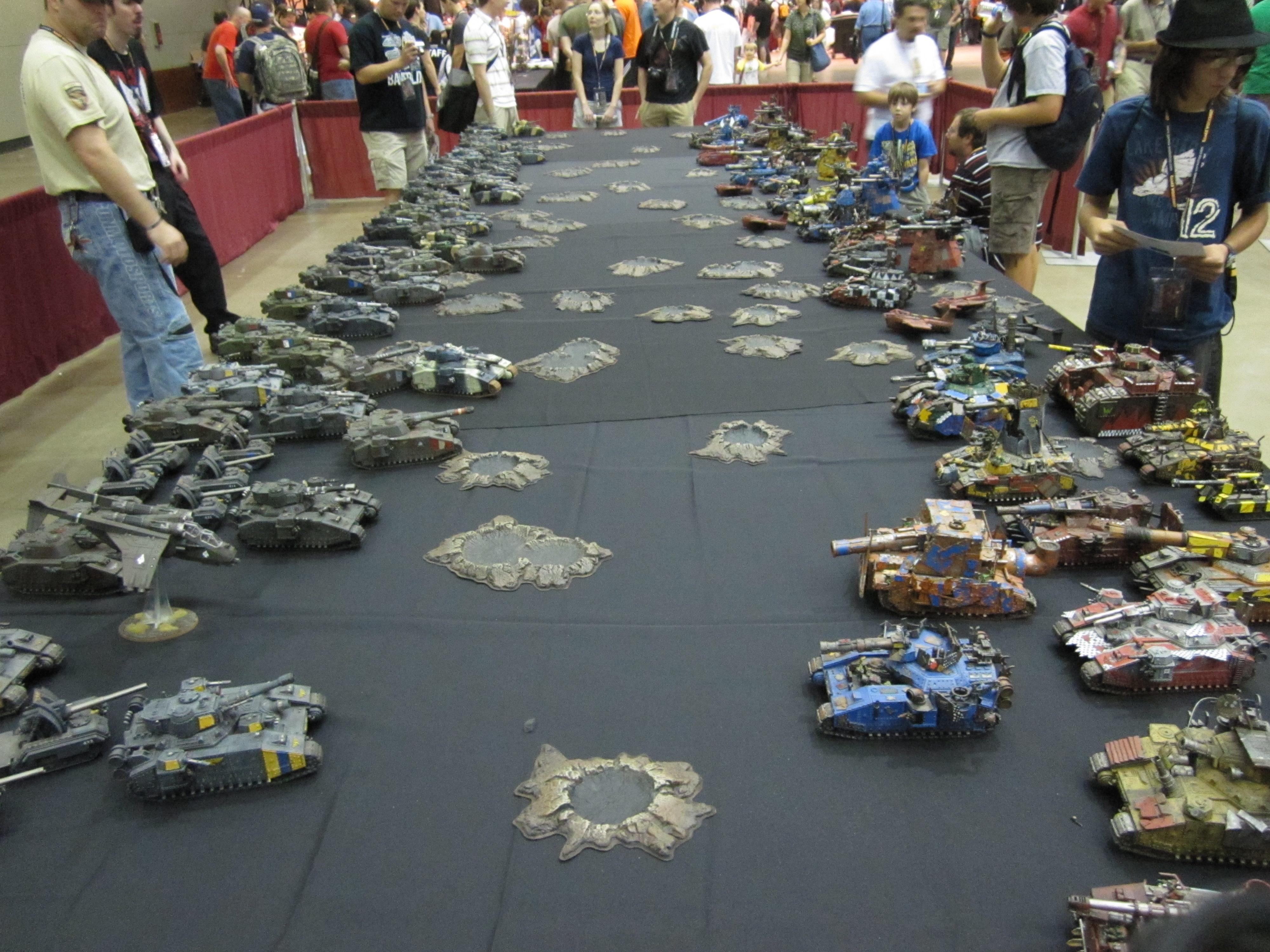 Armored Company, Baneblade, Games Day 2010, Leman Russ, Shadowsword, Tank