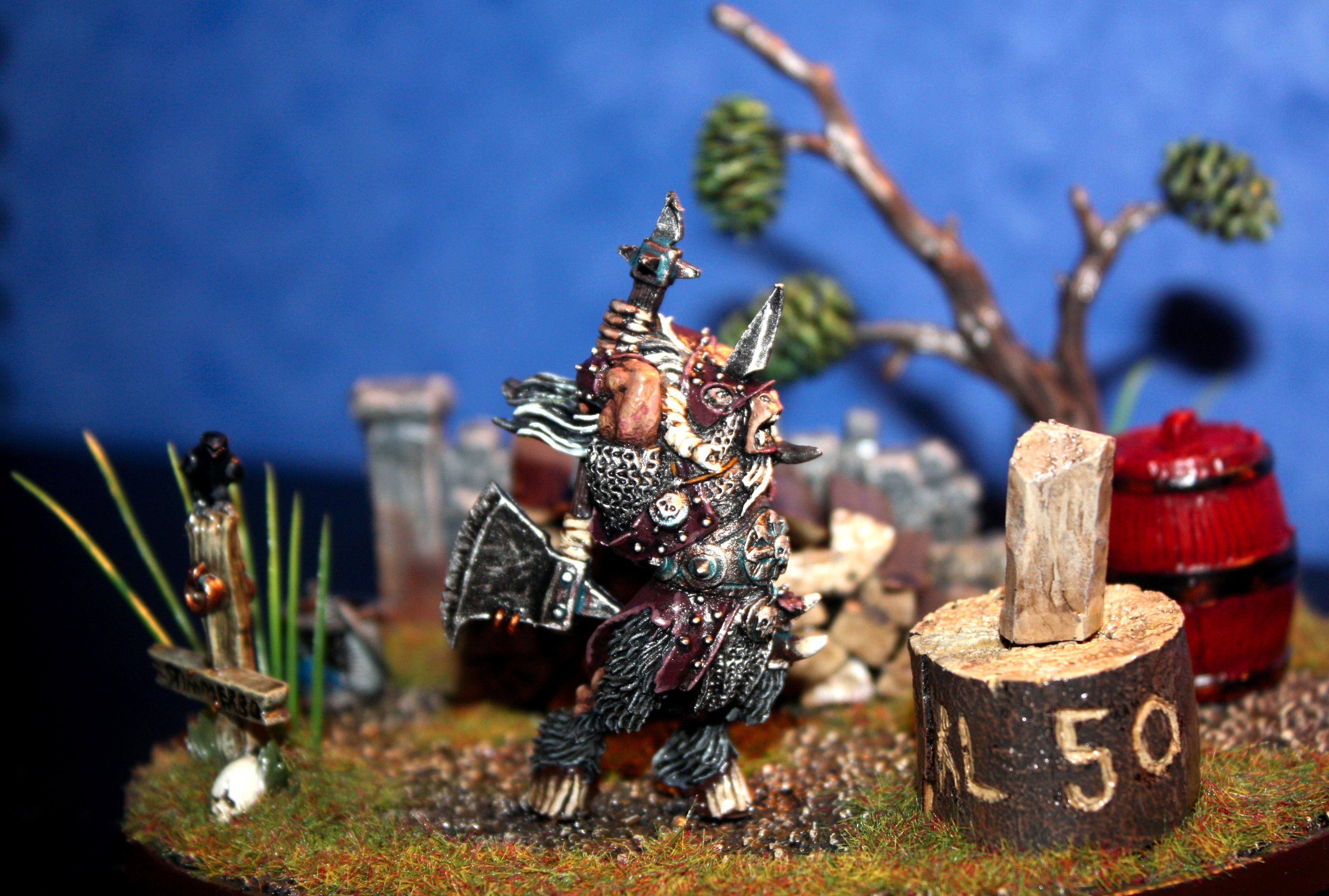 Beastmen, Conversion, Converting, Diorama, Painting, Sweden, Warhammer Fantasy