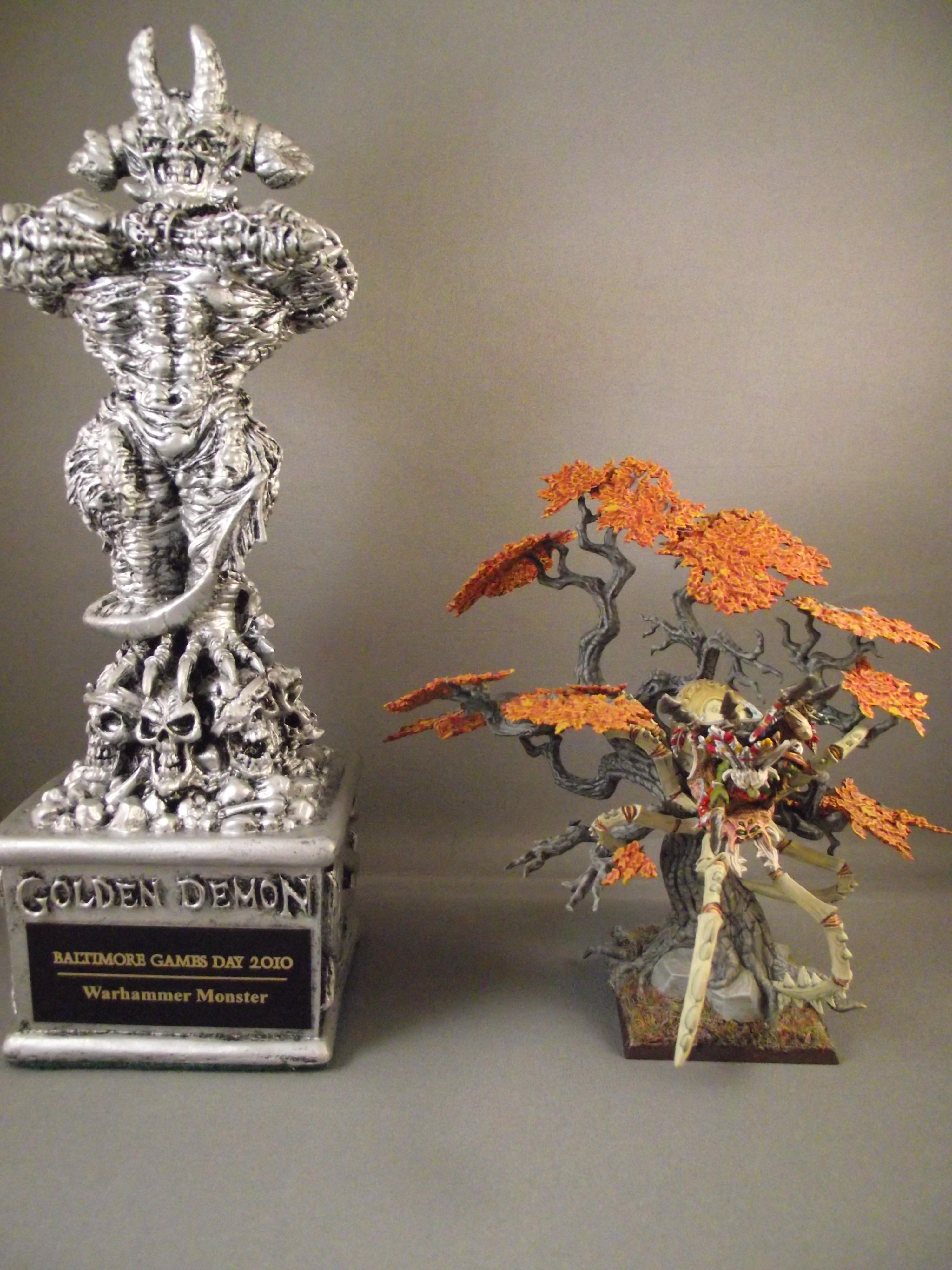 Autumn, Conversion, Goblins, Golden Demon, Spider, Warhammer Fantasy