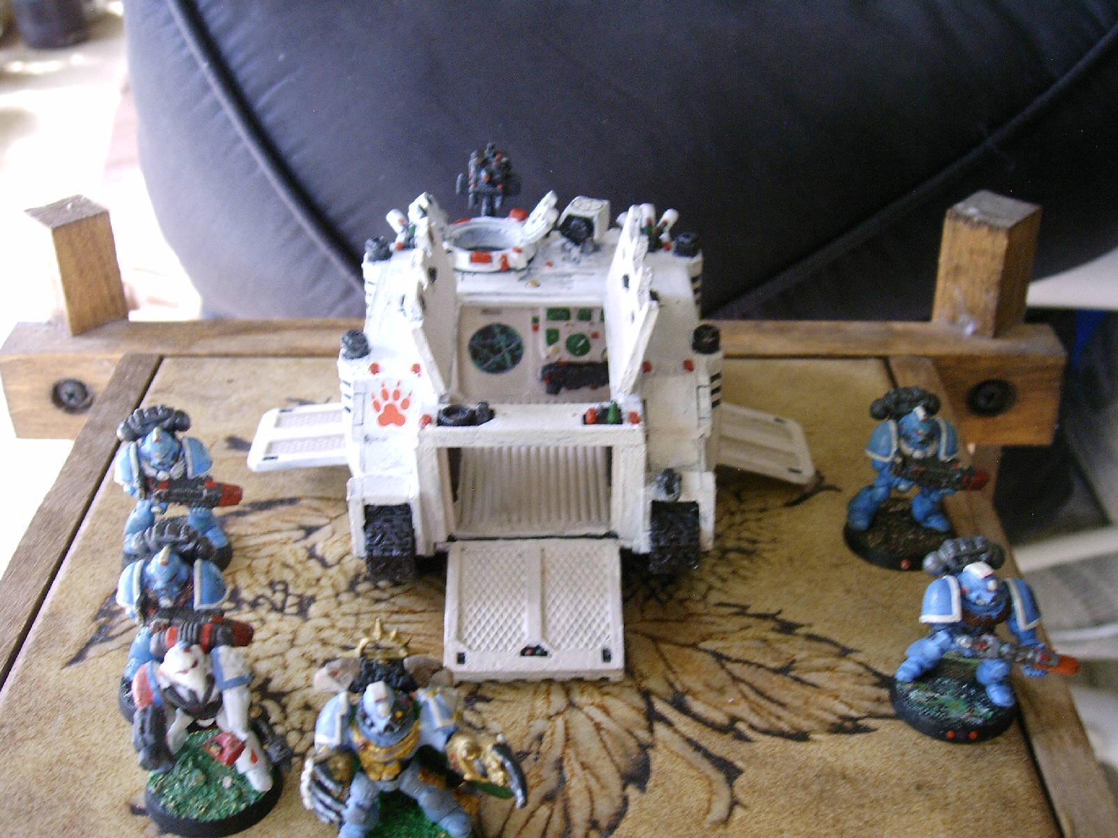 Command Squad, Warhammer 40,000, Waterslide Transfer