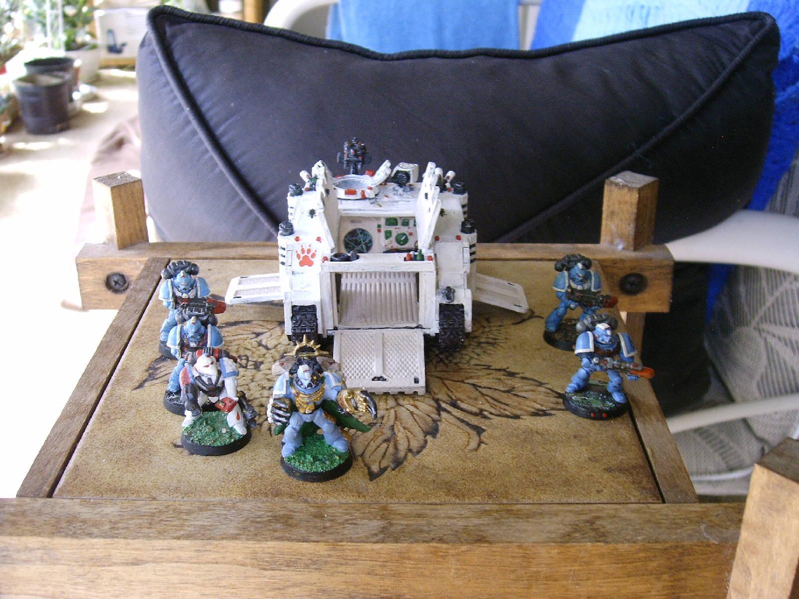 Command Squad, Warhammer 40,000, Waterslide Transfer