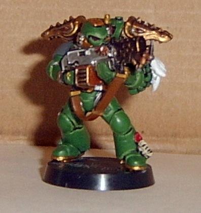 Salamanders, Space Marines, Sternguard, Warhammer 40,000