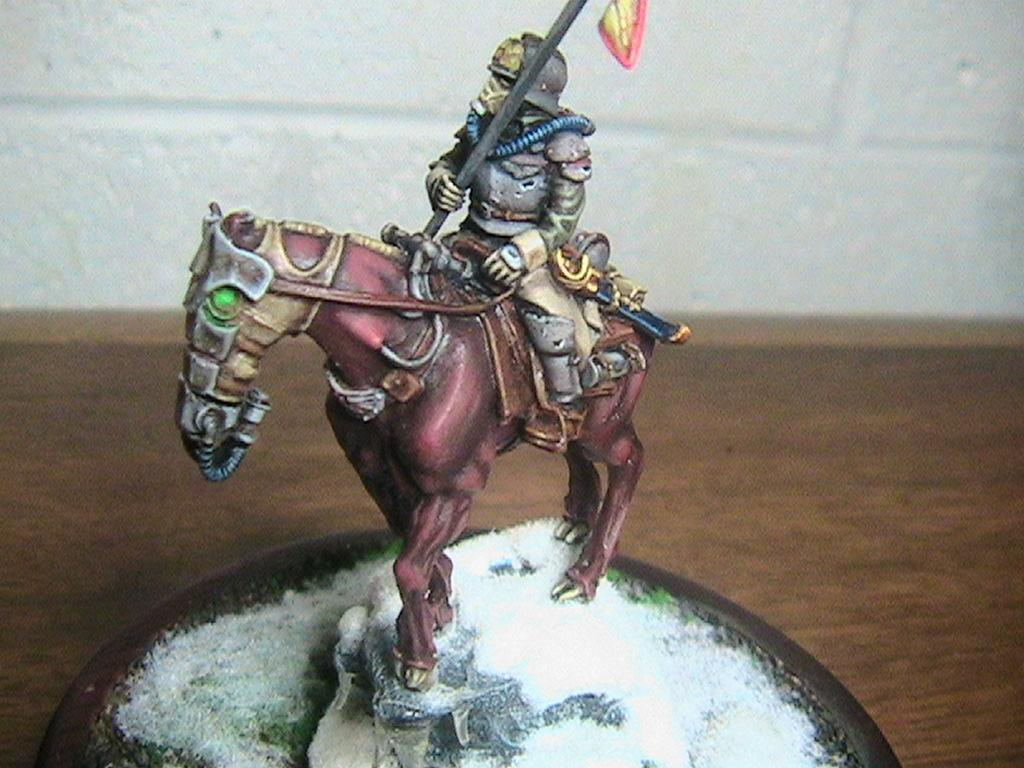 Death Korps of Krieg, Horse, Imperial Guard, Rough Riders