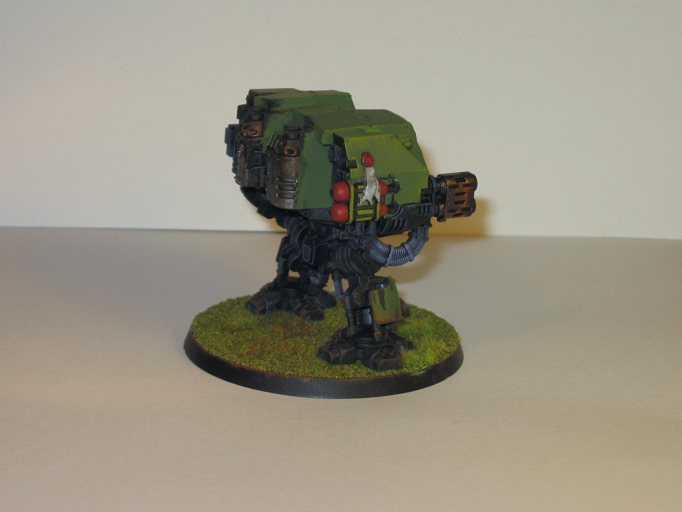 Assault On Black Reach, Dreadnought, Space Marines
