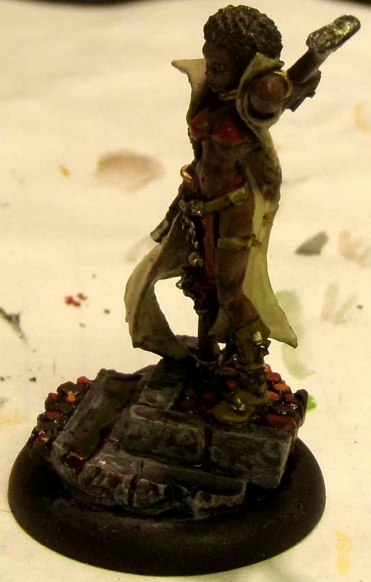 Curly Ann, Freebooter, Freebooter's, Hans, Malifaux, Outcasts, Work In Progress