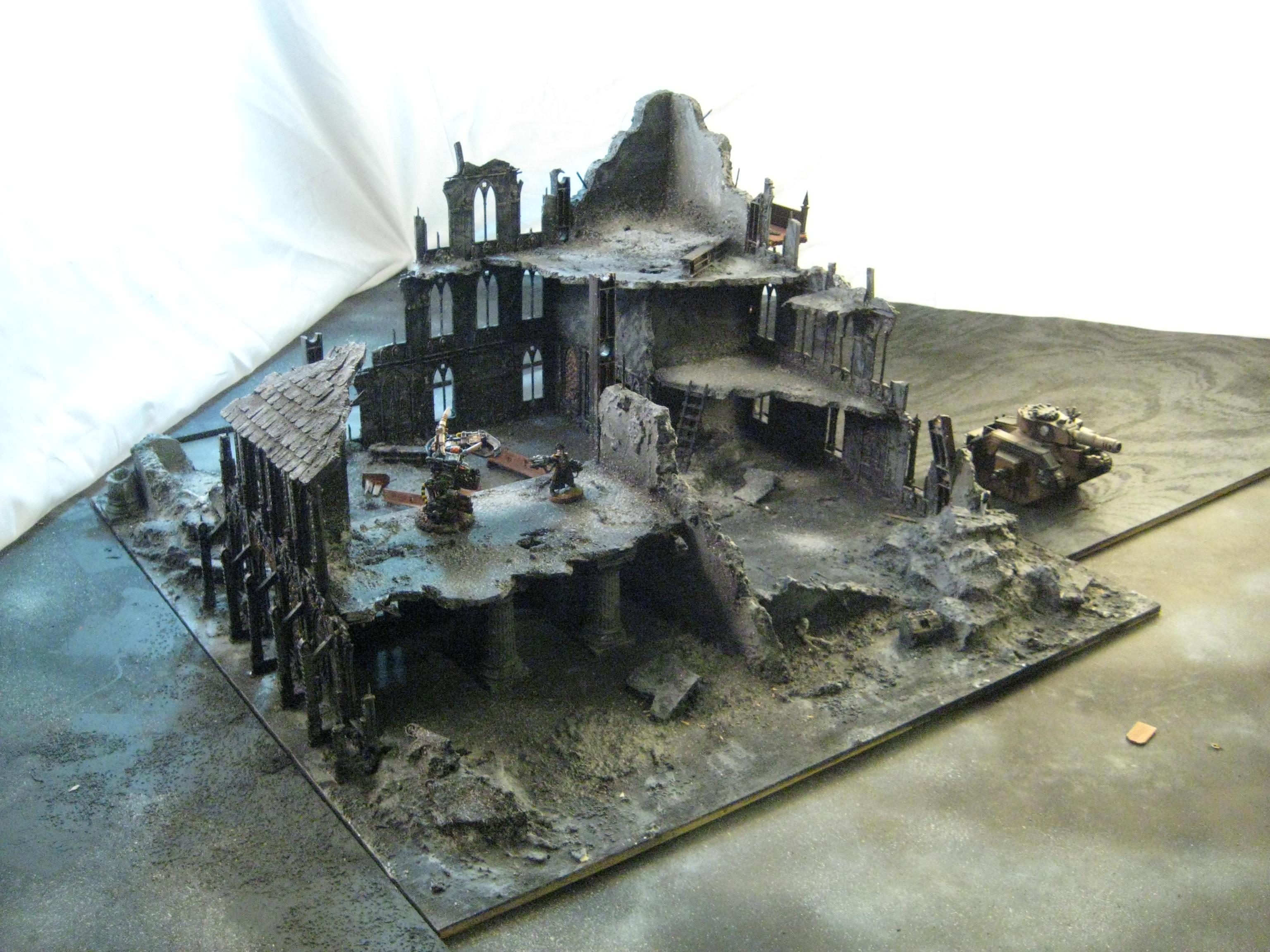 Ruins, Terrain, catherdral 1