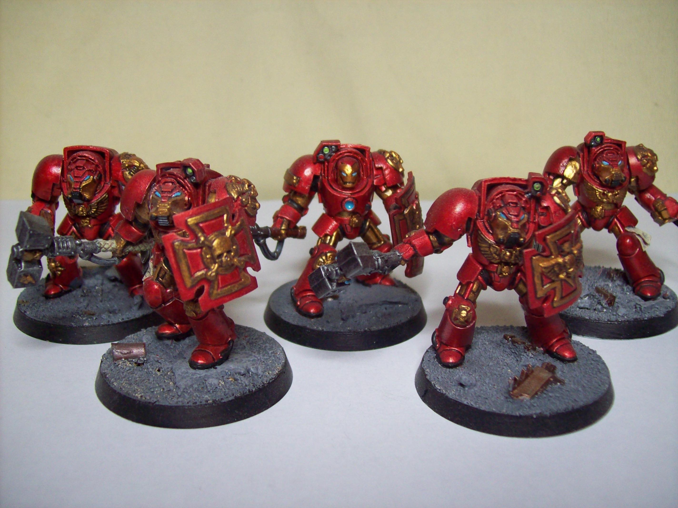 Iron Man, Space Marines, Terminator Armor