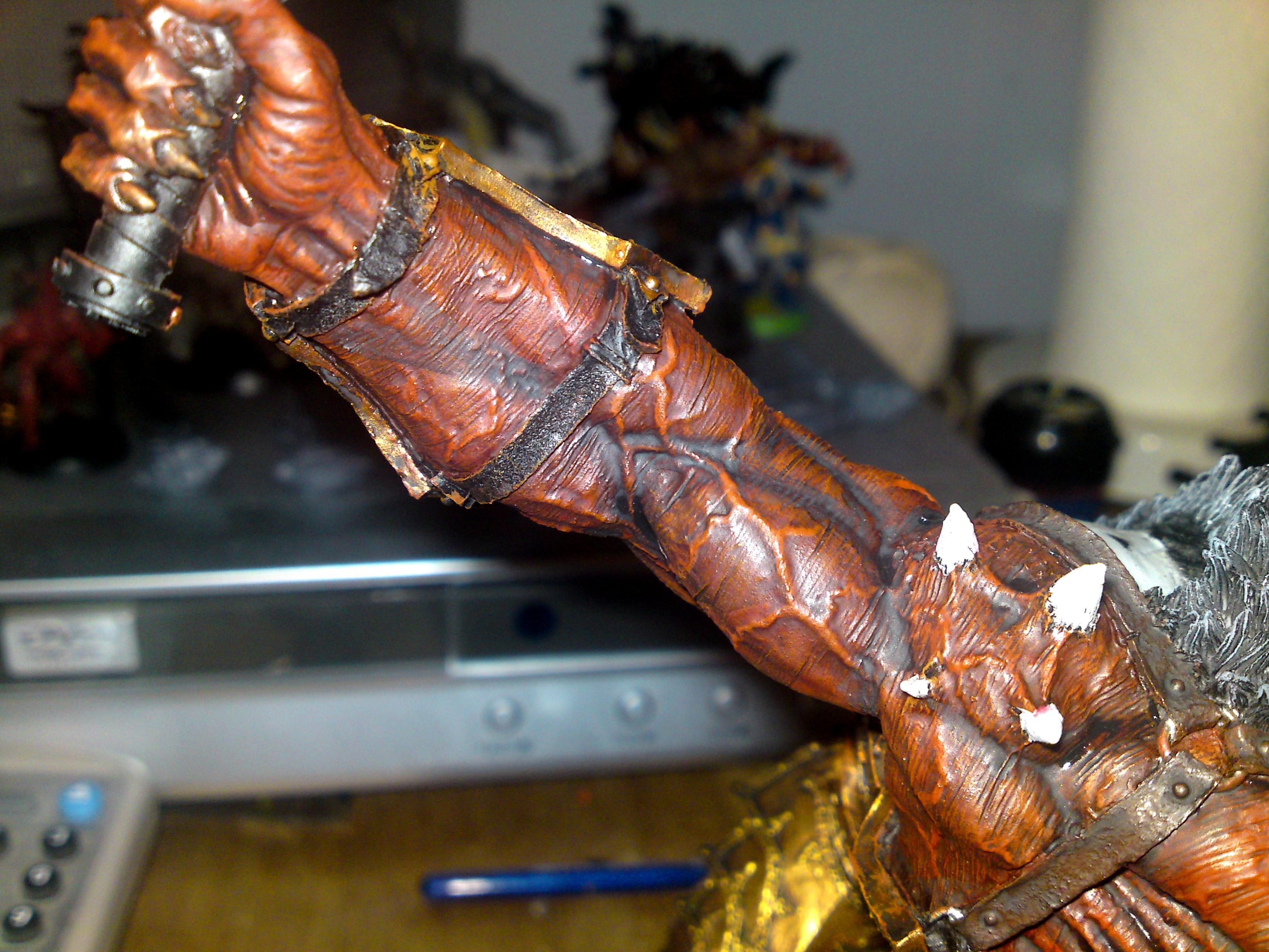 Bloodthirster, Chaos, Daemons, Forge World, Khorne, Work In Progress