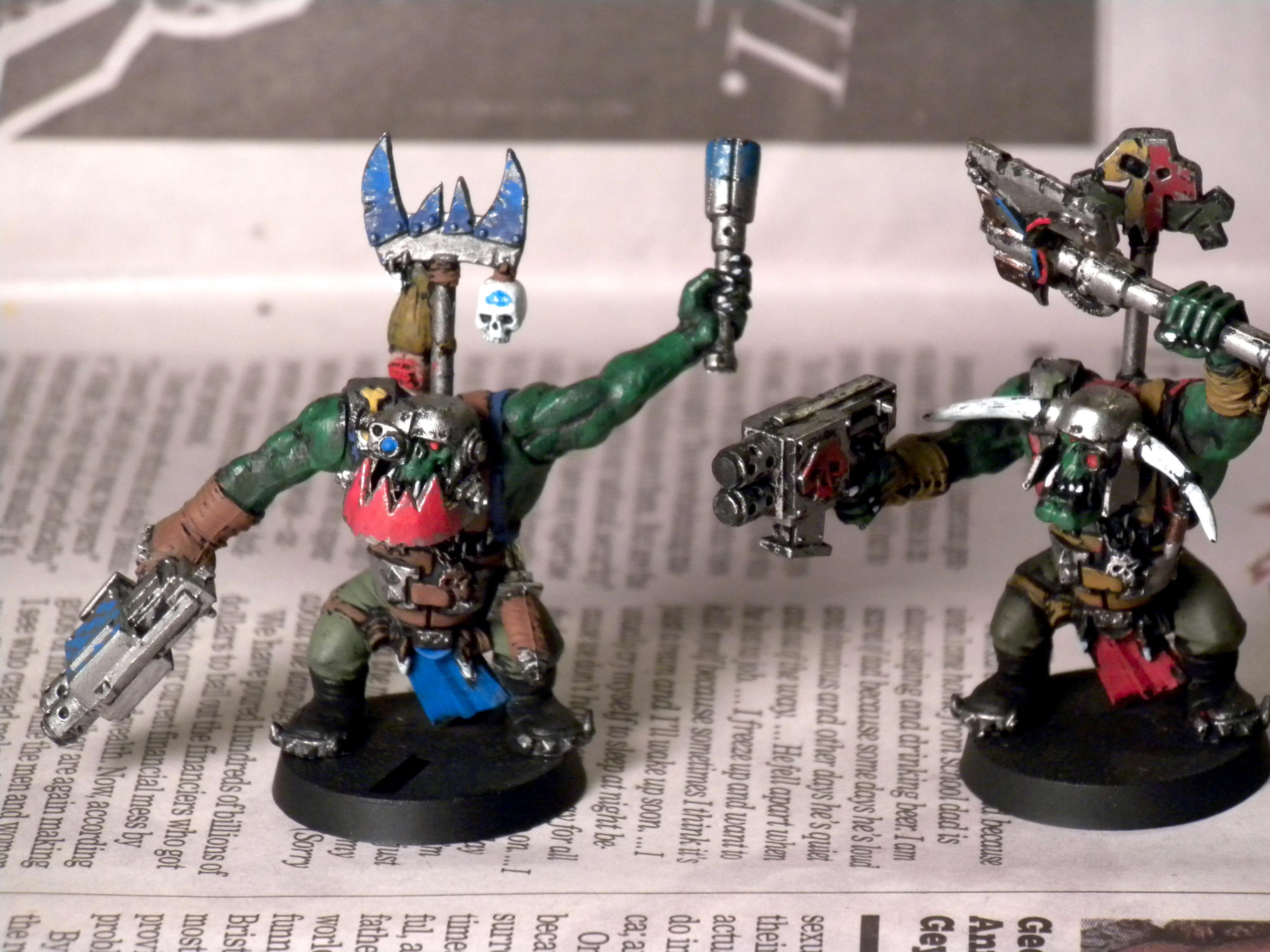 Nob, Orks, Mob Nobz Front