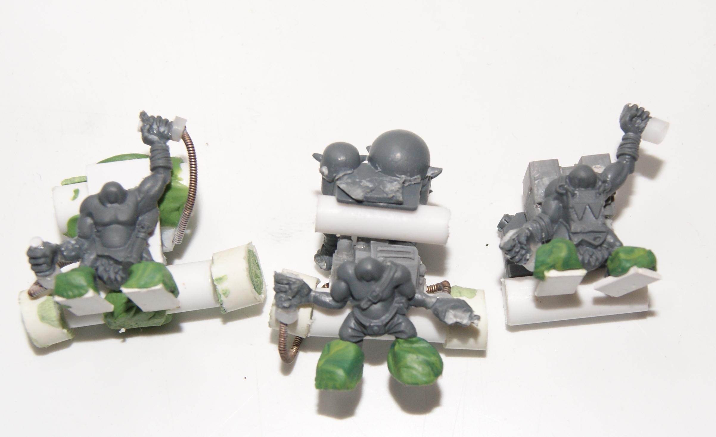 Burnagrot, Conversion, Grot Rebellion, Grot Rebels, Grots, Warhammer 40,000, Work In Progress
