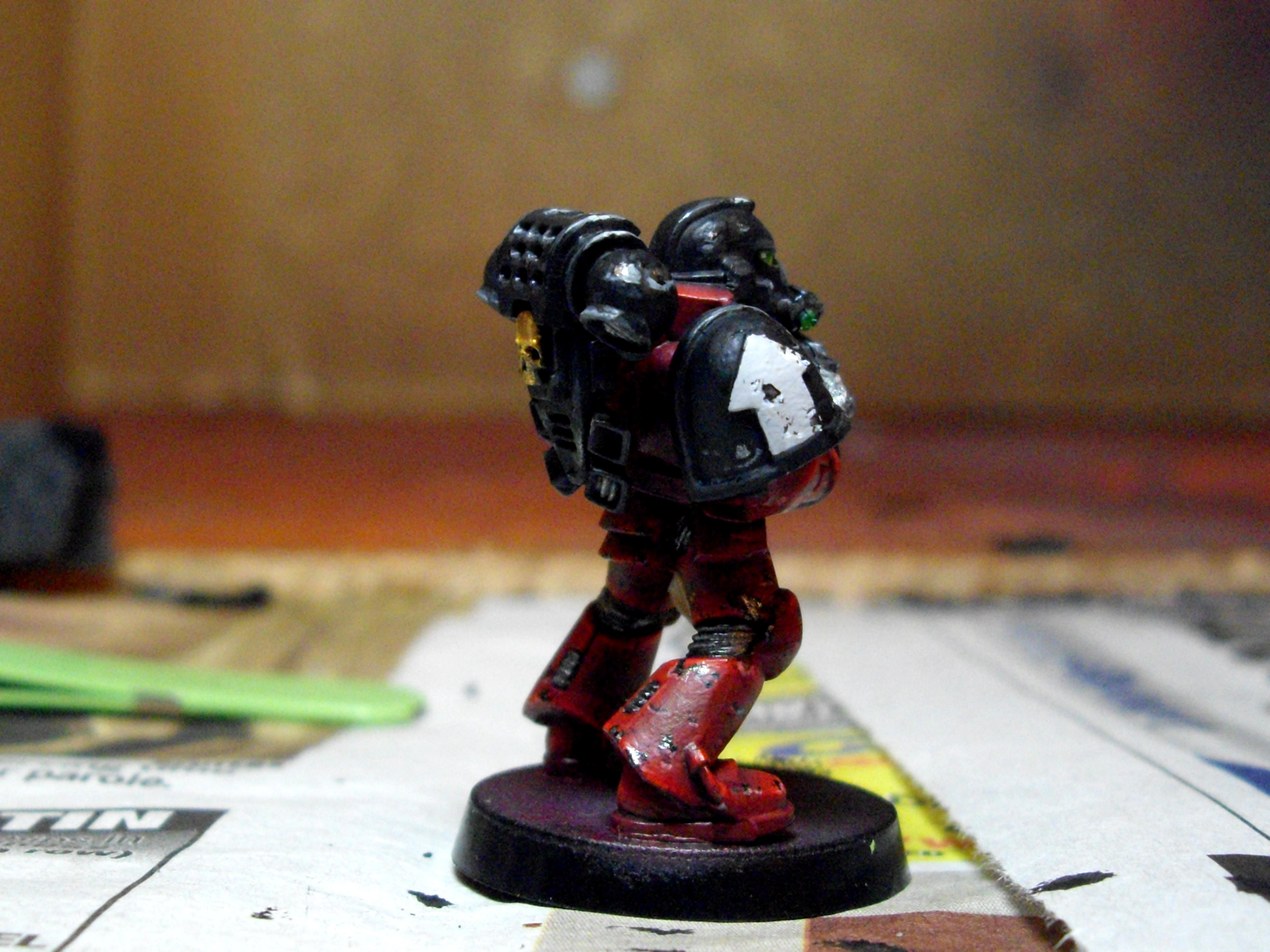 Exorcist, Space Marines, Tactical Squad
