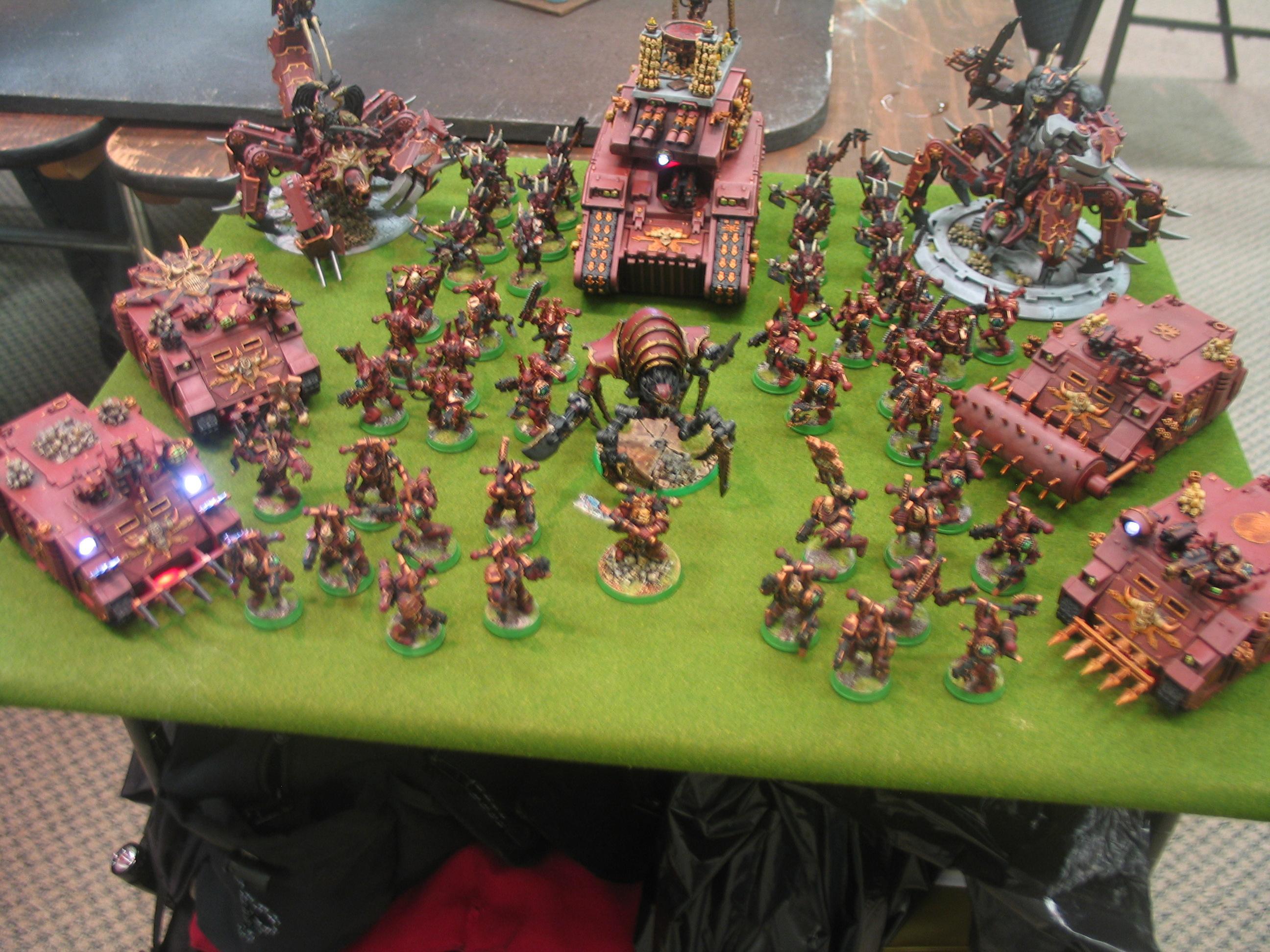 Chaos, Chaos Space Marines, Nova Open 2010, Warhammer 40,000