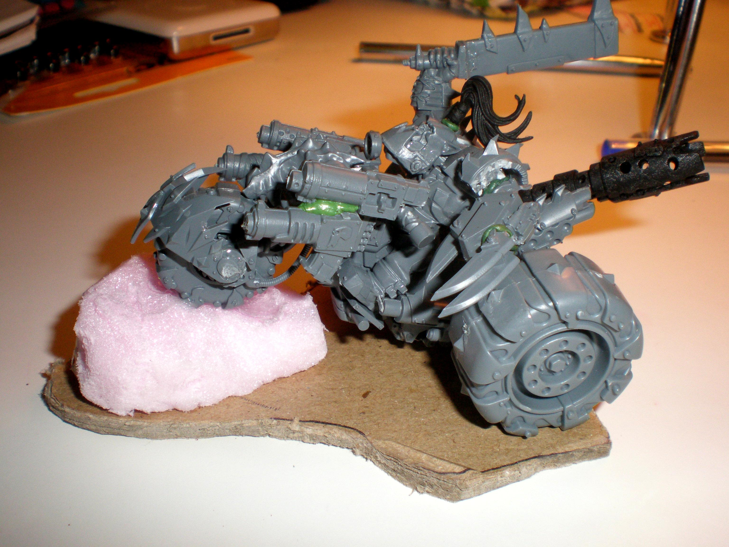 Bike, Deff Dread, Freeks, Green, Orks, Red, Speed, Speed Freeks, Waaagh