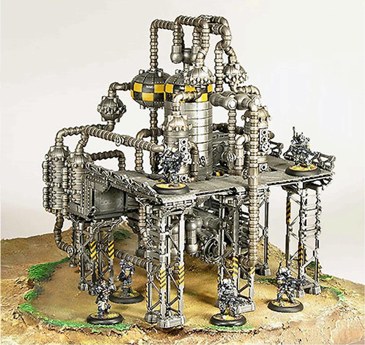 Biotoxin Plant, Industrial, Review, Terrain, Urban Mammoth, Urban War