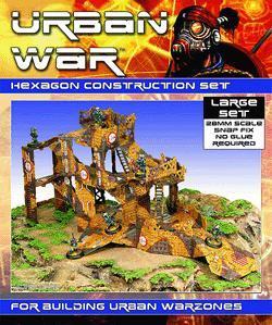 Construction, Hexagonal, Review, Terrain, Urban Mammoth, Urban War