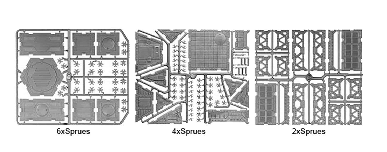 Construction, Hexagonal, Kit, Review, Terrain, Urban Mammoth, Urban War