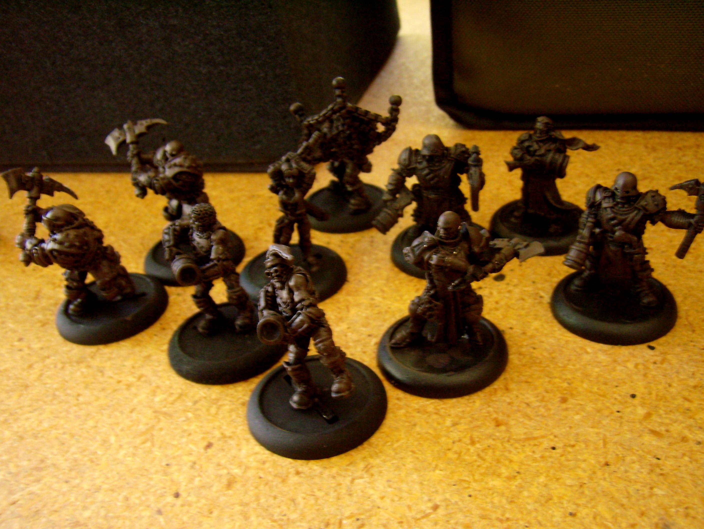 Hordes, Mercenary, Warmachine