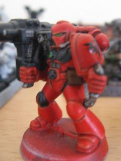 Blood Angels, Devastator, Missile Launcher, Space Marines