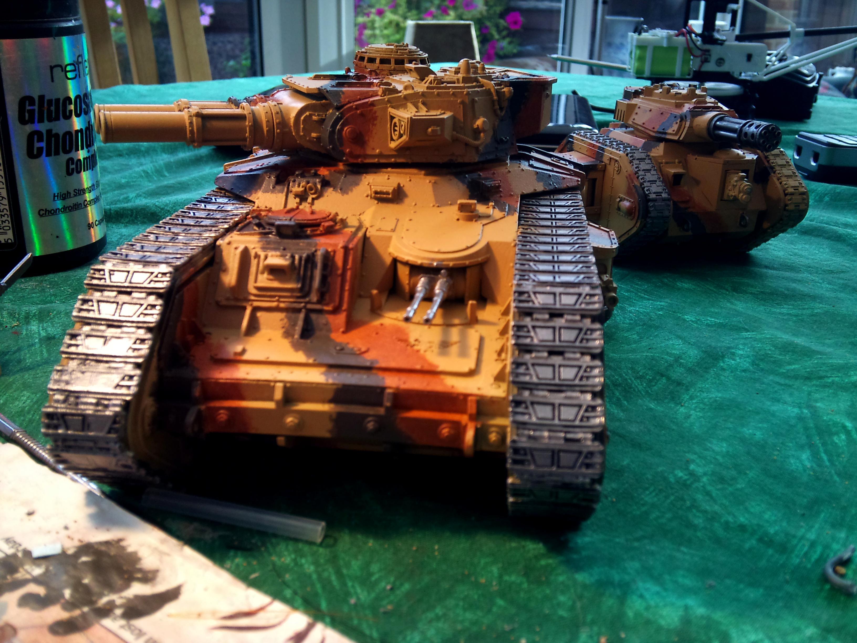 Astra Militarum, Cadians, Imperial Guard, Tank