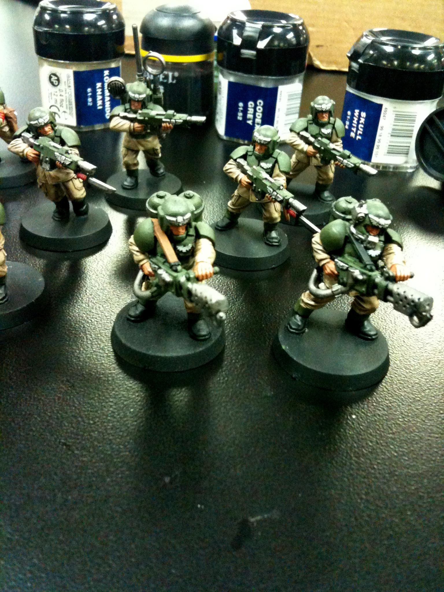 Cadians, Imperial Guard, Sqaud