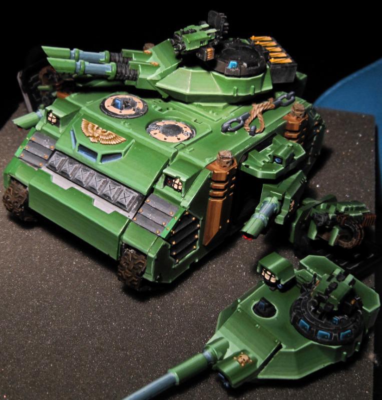 Magnet, Predator, Salamanders Predator, Space Marines, Warhammer 40,000