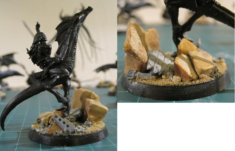 Daemons Chaos Whispers Obscuras Seekers Slaanesh Bases Urban 40k
