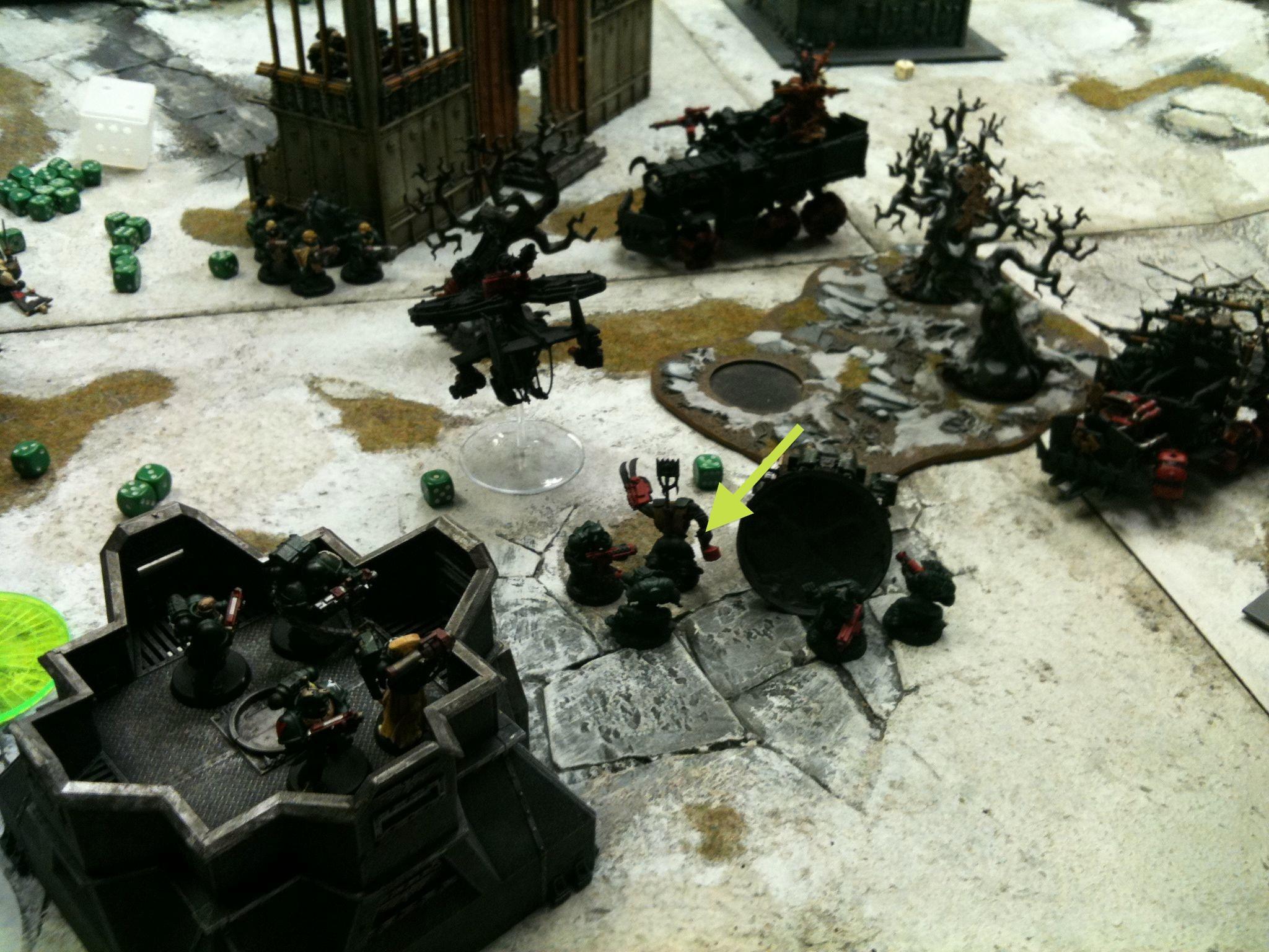Battle Report, Da Dark Angelz, Dark Angels, Orks