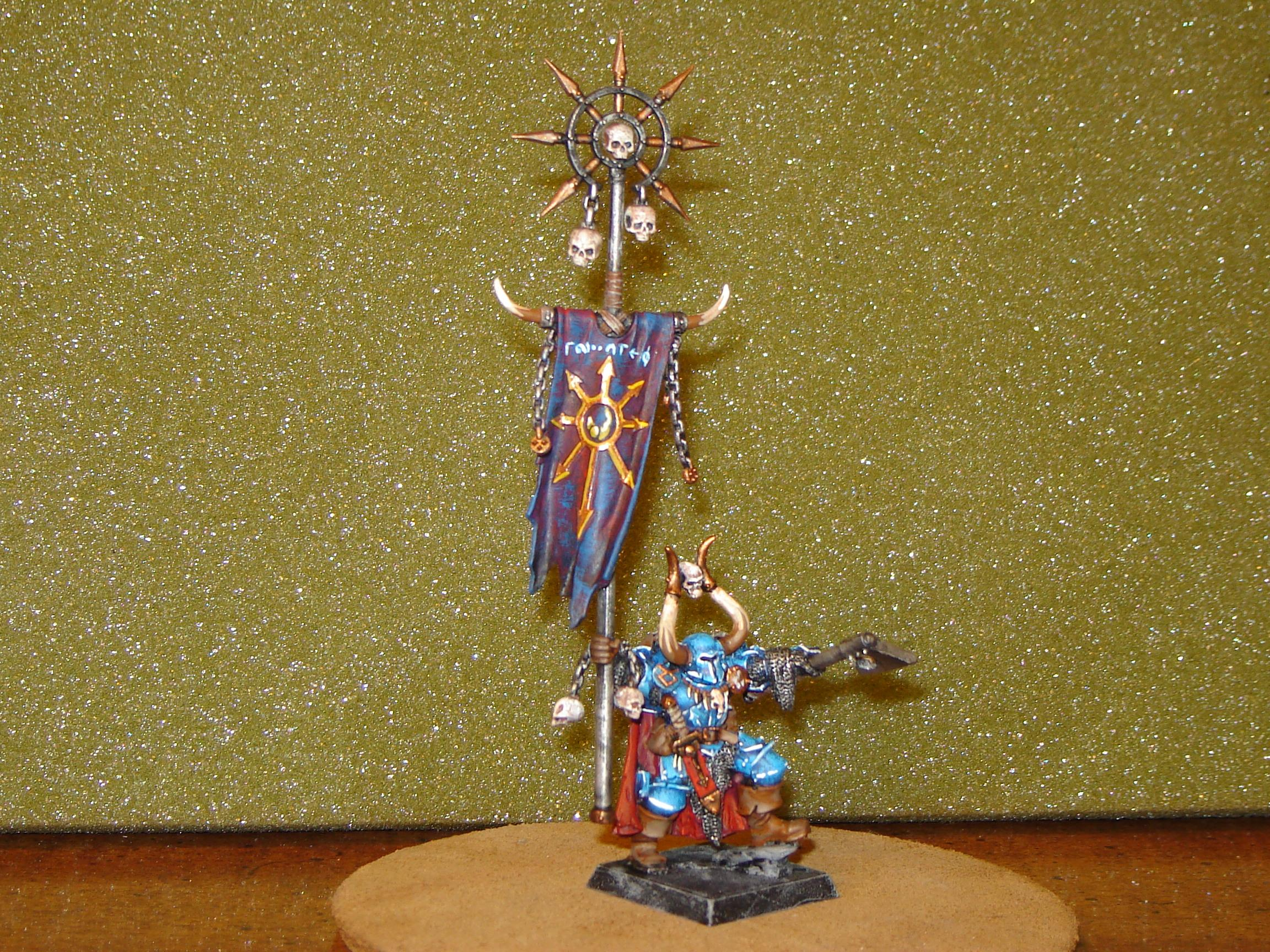 This will serve as by Battle Standard Bearer