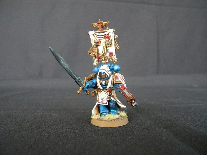 Librarian, Space Marines