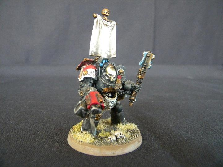 Chaplain, Space Marines, Terminator Armor