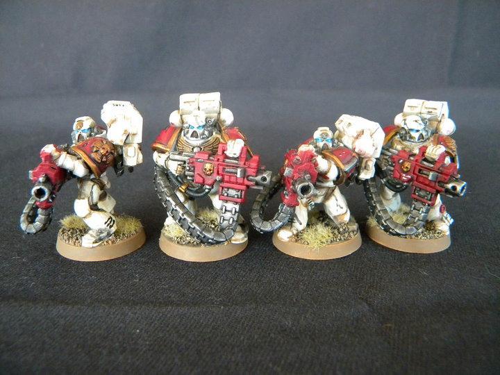 Devastator, Heavy Bolter, Space Marines, Squad, Warhammer 40,000