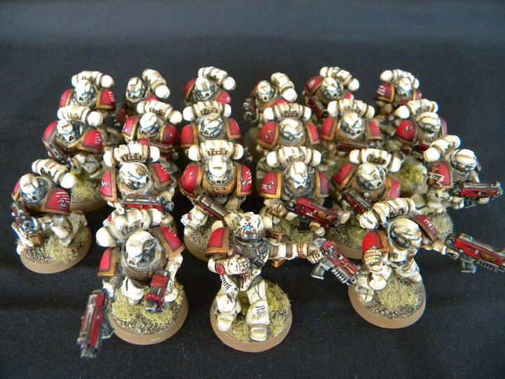 Space Marines Red White Patior Angelica