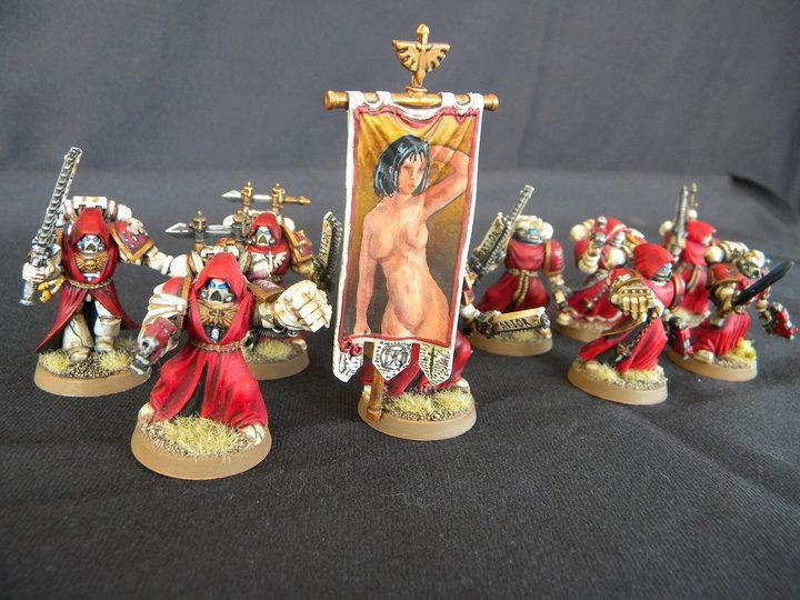 *blam*!!, Banner, Dark Angels, Heresy!, Nsfw, Sexy, Space Marines