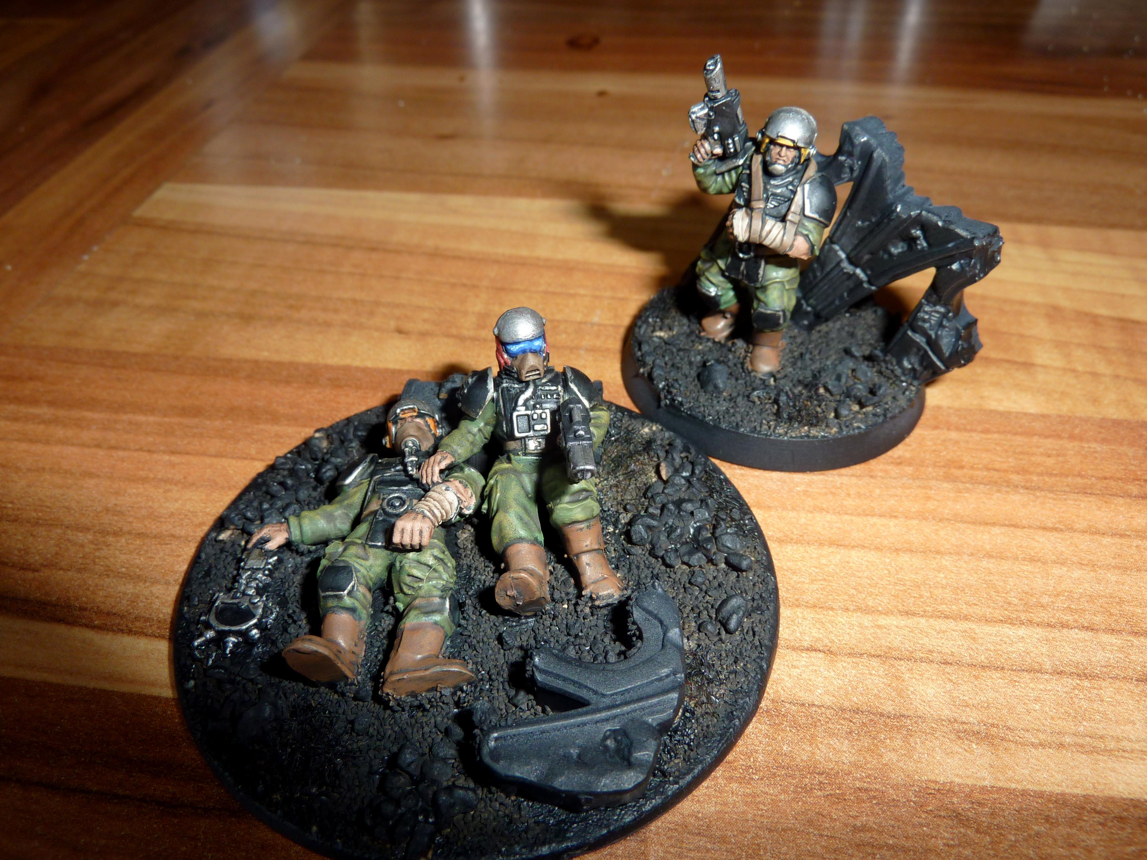 Imperial Guard, Objective Marker, Wounded