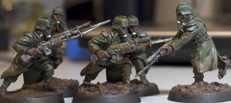Death Korps of Krieg, Death Korps Trooper, Forge World, Guardsmen, Imperial Guard