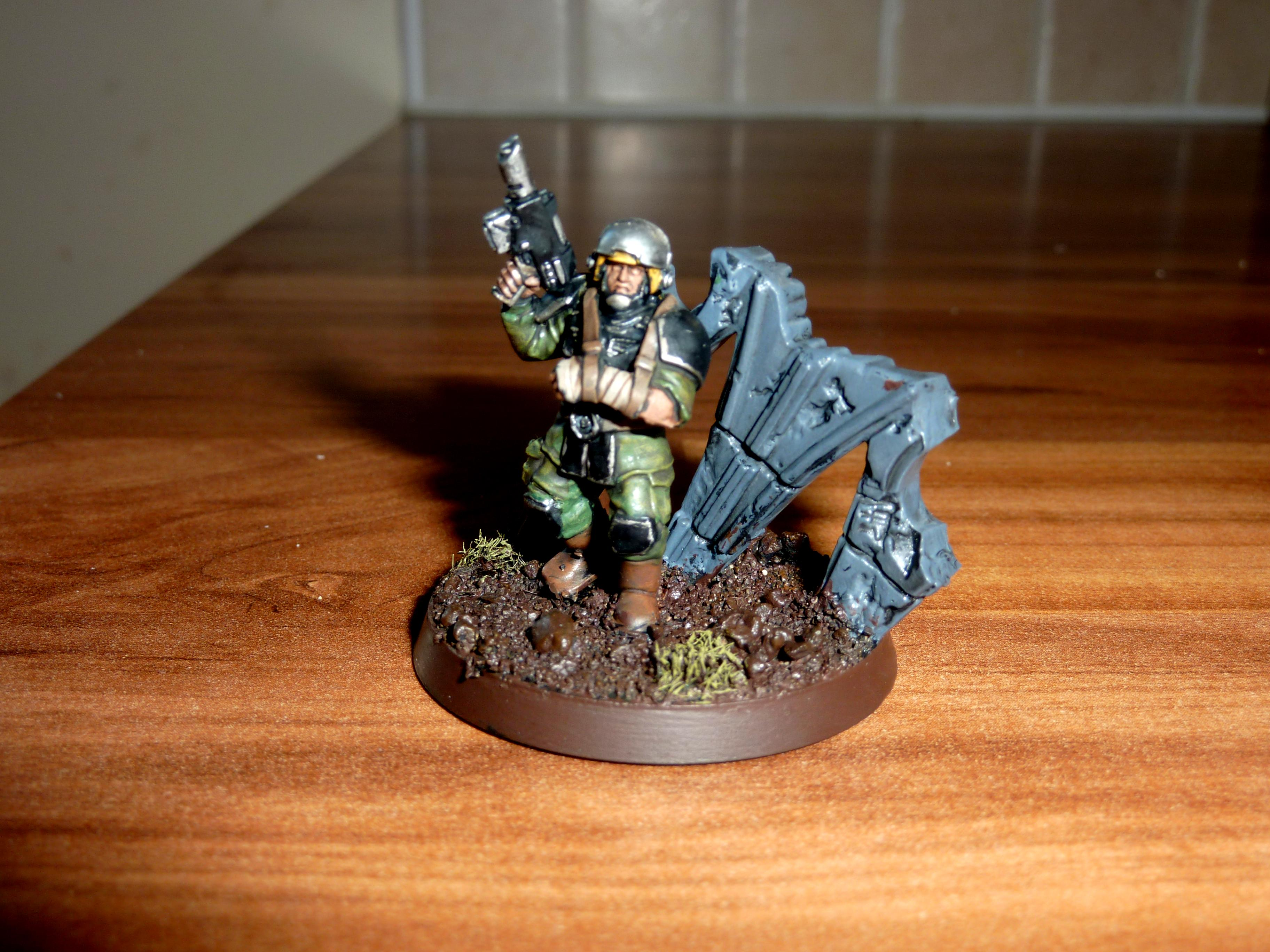 Imperial Guard, Objective Marker, Warhammer 40,000, Wounded