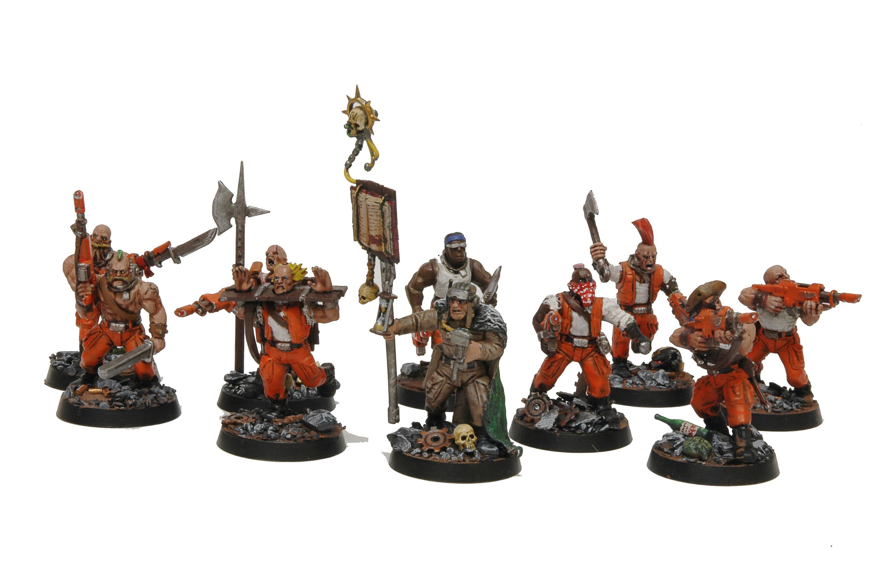 Cavalry, Guard, Imperial Guard, Penal Legion, Rough Riders, Sentinel, Walker
