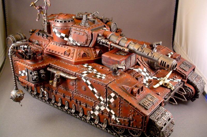 Looted Baneblade, Orks, Tank, Warhammer 40,000