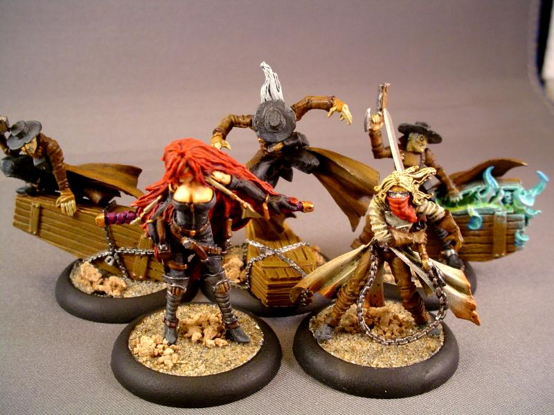 Cowboy, Death Marshalls, Malifaux