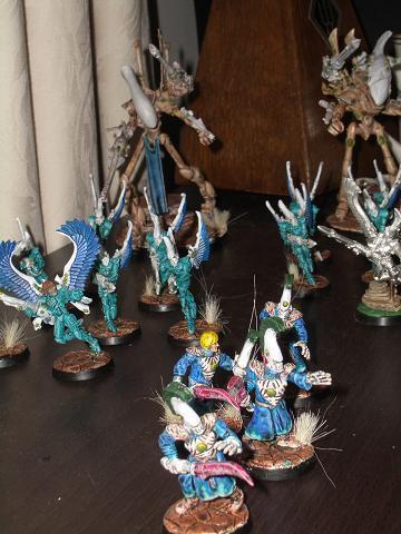 Craftworld, Desert, Eldar, Hawks, Seers, Warlock, Wraithlord