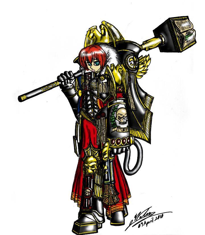 Artwork, Female, Grimdark, Inquisitor, Sisters Of Battle, Warhammer 40,000, Witch Hunters