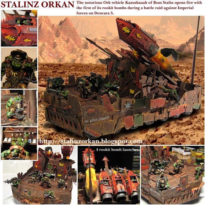 Ork Artillery, Orks, Tank, Warhammer 40,000