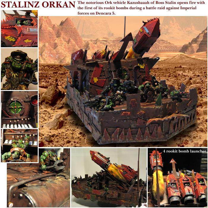 Artillery, Battlewagon, Ork Artillery, Orks