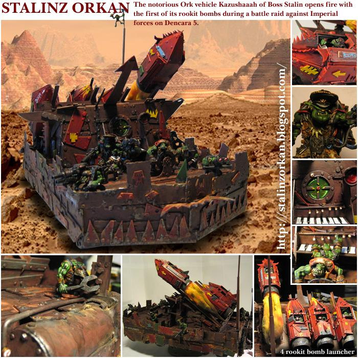 Conversion, Missile, Ork Artillery, Tank
