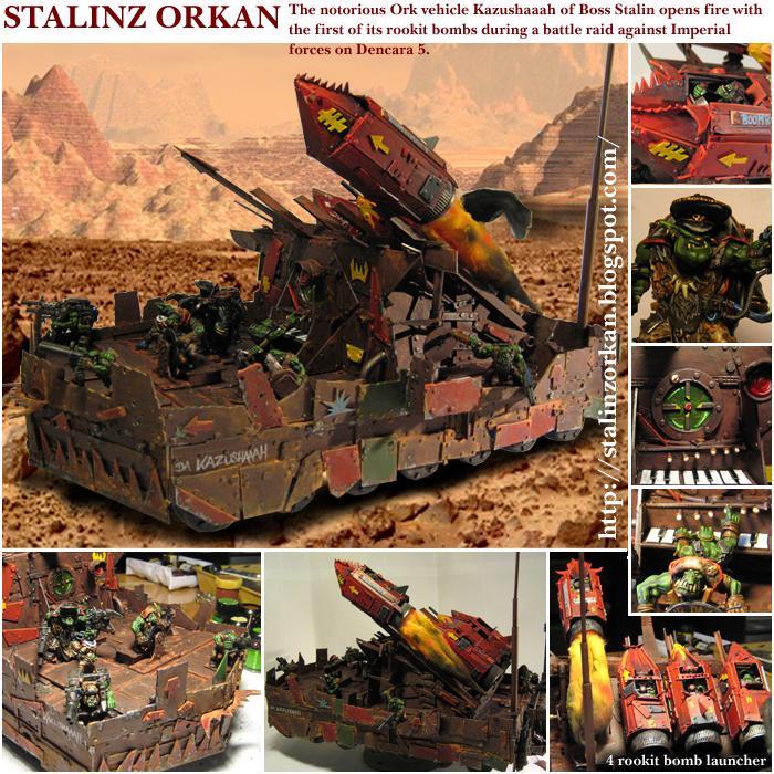 Ork Artillery, Orks, Rokkit Bomm, Warhammer 40,000