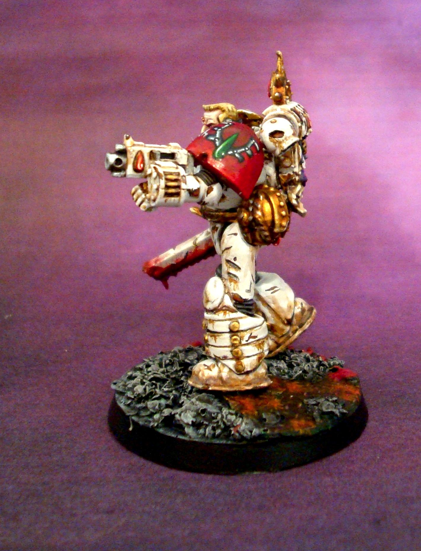 Freehand, Space Marines, True Scale, White Armour