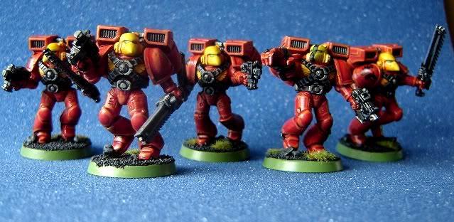 Assault Squad, Blood Angels, Space Marines, Warhammer 40,000
